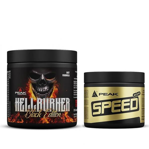 HELL BURNER 120kap + speed caps gratis