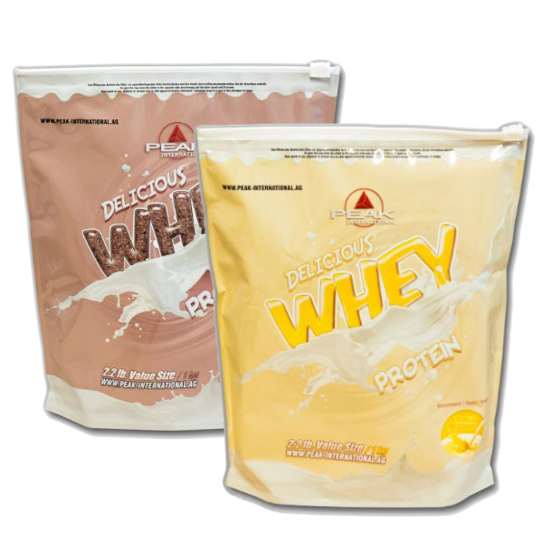 Double pack - Delicious Muscle Whey Protein 2 x 1kg