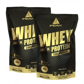 Double Pack - Whey Protein Concentrate 2 x 1kg