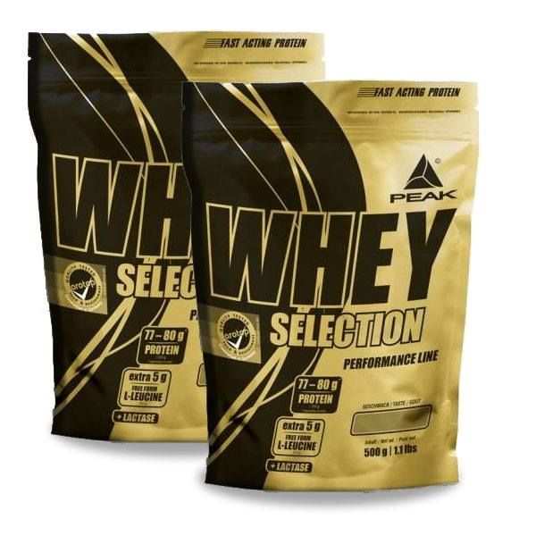 Whey selection doublepack -  2000g
