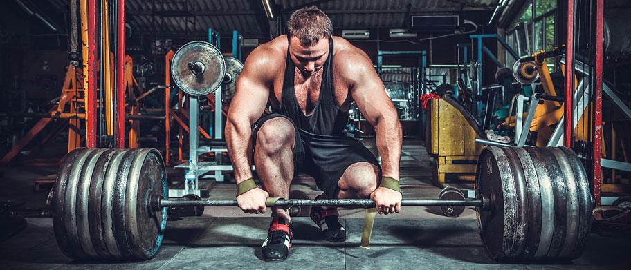 Crossfit trening z utežmi